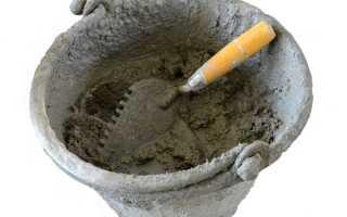 Цементная смесь для штукатурки