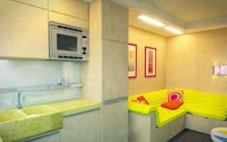 Дизайн прямоугольной комнаты 17 кв м
