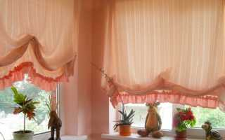 Дизайн штор на балкон фото