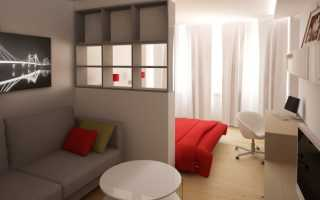 Дизайн комнаты общежития 18 кв