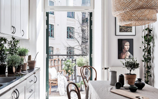 Дизайн кухни 10 м2 с балконом
