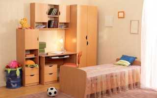 Детская комната в хрущевке дизайн
