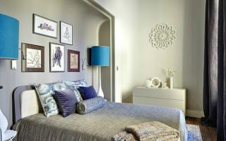 Декор спальни над кроватью