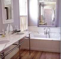 Сиреневая ванная комната дизайн фото