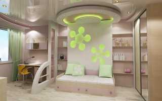 Проект интерьера детской комнаты