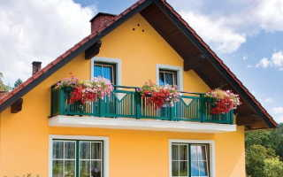Отделка балкона частного дома