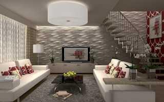 Панели для отделки стен в комнате