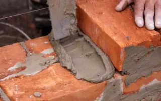 Цементный раствор для печи