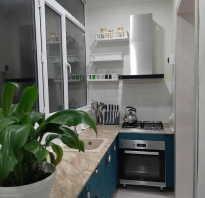 Дизайн кухни на балконе в квартире
