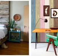 Интерьер с деревянными панелями