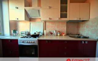 Дизайн кухни с нишей