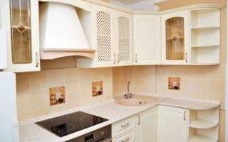 Дизайны кухонь в квартирах с маленькой площадью