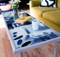 Декор кухонного стола