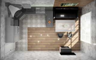 Кухни студия 18 кв м дизайн фото