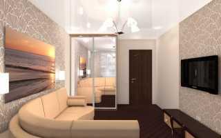 Дизайн интерьера 15 кв м