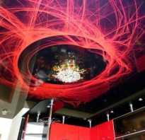 Декор на натяжной потолок