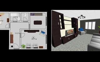 Дизайн проект расстановка мебели