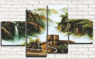 Дизайн картин на стене