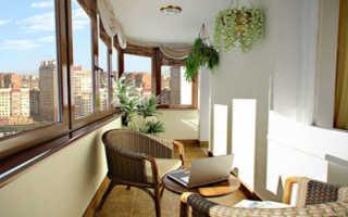 Делаем ремонт на балконе
