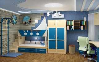 Дизайн комнаты для мальчика 9 лет