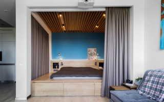 Комната с альковом дизайн