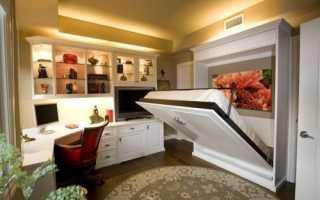 Детская кровать трансформер для малогабаритной комнаты