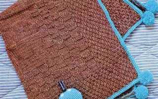 Вязание детских одеял спицами