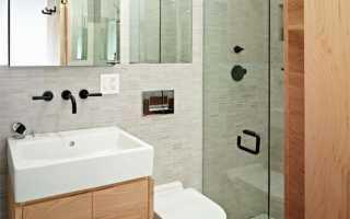 Интерьер в ванной комнате в хрущевке