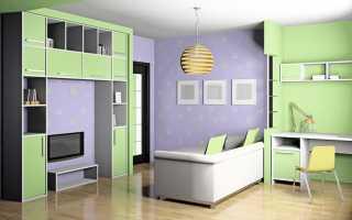 Дизайн детской комнаты 20 кв м