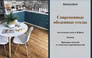 Кухонный стол современный дизайн