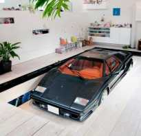 Интерьер гаража внутри своими