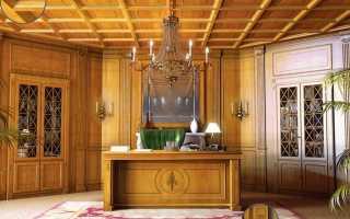 Деревянные панели для интерьера
