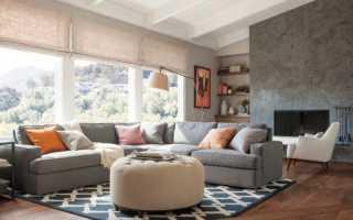 Какой диван к серым обоям