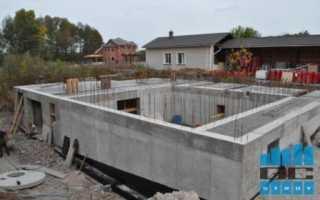 Как сделать стену из бетона