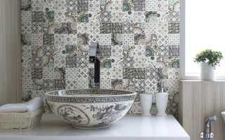 Пэчворк ванная дизайн