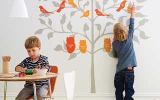 Трафареты для стен в детскую