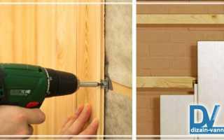 Как обшить ванную комнату панелями