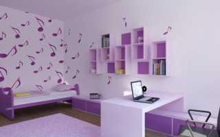 Дизайн комнаты для девочки 11 лет