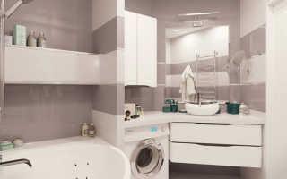 Ванная комната 4 кв м без туалета