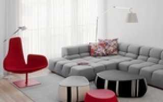 Диван и кресло в интерьере