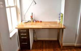 Письменные столы икеа в интерьере