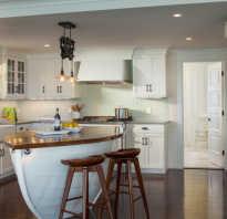 Кухни в коттеджах интерьер фото
