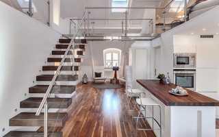 Дизайн двухъярусных квартир